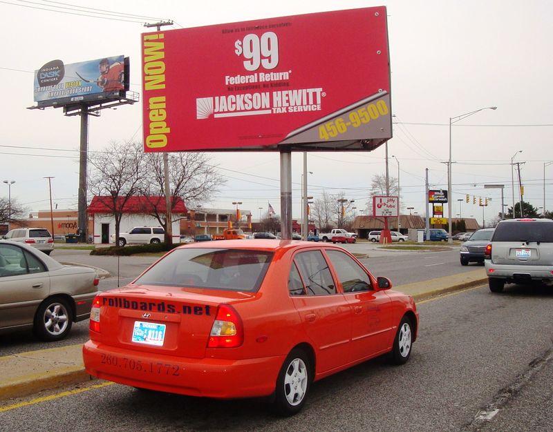 Billboard small car Mar 24 2009