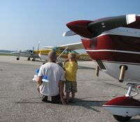 Fly In Bkfst Aug 29 family plane