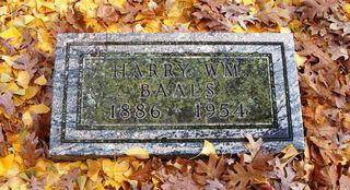Baals gravestone