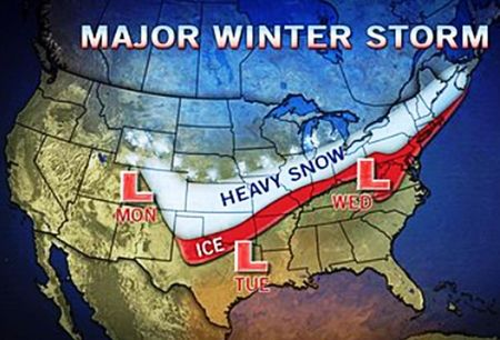 Snowstorm accuweather graphic