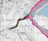 Little River Wetlands map