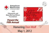 Wolf luncheon award