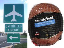 Smithfield ham airport a