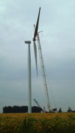 Wind turbine north of Elwood Sept 17 2012