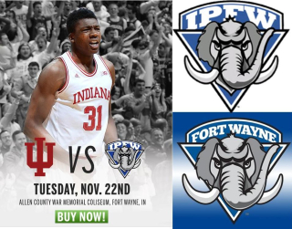IU Sports old Mastodon logo use