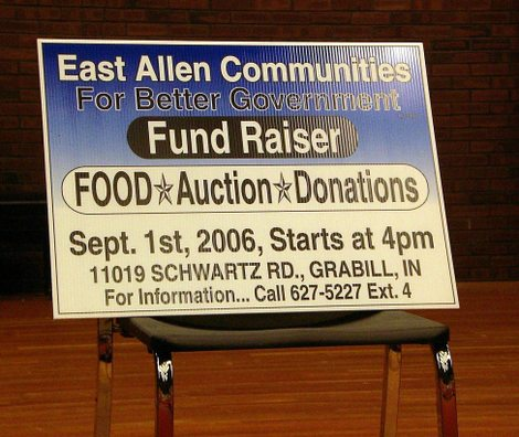 East_allen_communities_sign_at_ipfw