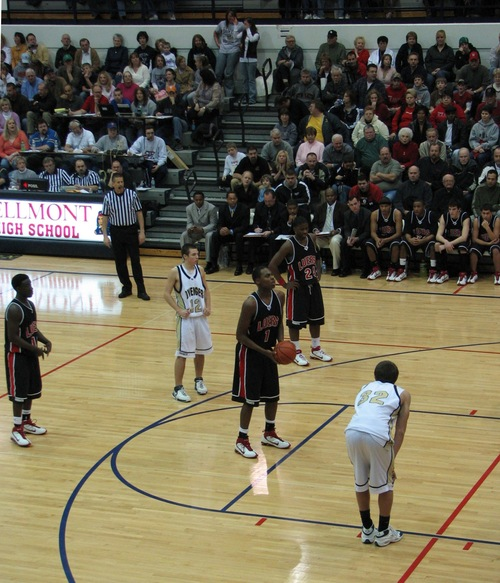 DeShaun Thomas free throw