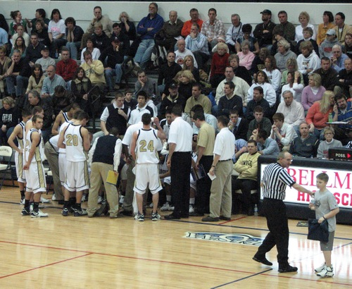 Bishop Dwenger at at time out