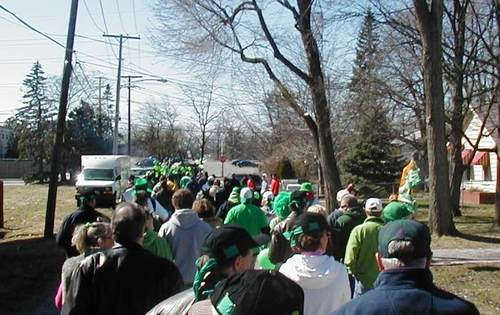 A sea of green