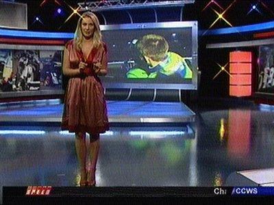 Female Sports Journalists Presenters Nicole Manske On Speed Tv