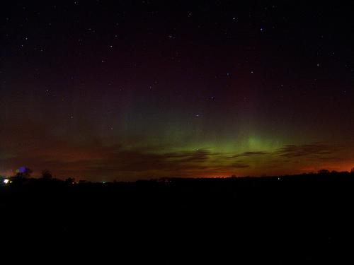 Fort Wayne Observed: Northern Lights visible in Fort Wayne
